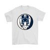 NFL - Dallas Cowboys Grateful Dead Steal Your Face Football NFL Shirts-T-shirt-Gildan Mens T-Shirt-White-S-PopsSpot