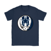 NFL - Dallas Cowboys Grateful Dead Steal Your Face Football NFL Shirts-T-shirt-Gildan Womens T-Shirt-Navy-S-PopsSpot