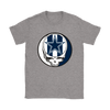 NFL - Dallas Cowboys Grateful Dead Steal Your Face Football NFL Shirts-T-shirt-Gildan Womens T-Shirt-Sport Grey-S-PopsSpot