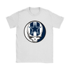 NFL - Dallas Cowboys Grateful Dead Steal Your Face Football NFL Shirts-T-shirt-Gildan Womens T-Shirt-White-S-PopsSpot