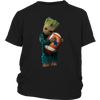 NFL - Dallas Cowboys Guardians Of The Galaxy Groot Football NFL Shirts-T-shirt-District Youth Shirt-Black-XS-Itees Global