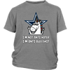 NFL - Dallas Cowboys I'm Not Anti Hater I'm Anti Bullshit Unicorn Football NFL Shirts-T-shirt-District Youth Shirt-Sport Grey-XS-Itees Global
