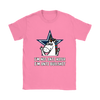 NFL - Dallas Cowboys I'm Not Anti Hater I'm Anti Bullshit Unicorn Football NFL Shirts-T-shirt-Gildan Womens T-Shirt-Azalea-S-Itees Global