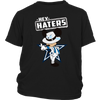 NFL - Dallas Cowboys Mickey Mouse Hey Haters Shirts-T-shirt-District Youth Shirt-Black-XS-Itees Global