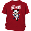 NFL - Dallas Cowboys Mickey Mouse Hey Haters Shirts-T-shirt-District Youth Shirt-Red-XS-Itees Global