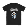 NFL - Dallas Cowboys Mickey Mouse Hey Haters Shirts-T-shirt-Gildan Womens T-Shirt-Black-S-Itees Global