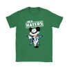 NFL - Dallas Cowboys Mickey Mouse Hey Haters Shirts-T-shirt-Gildan Womens T-Shirt-Irish Green-S-Itees Global