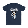 NFL - Dallas Cowboys Mickey Mouse Hey Haters Shirts-T-shirt-Gildan Womens T-Shirt-Navy-S-Itees Global