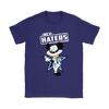 NFL - Dallas Cowboys Mickey Mouse Hey Haters Shirts-T-shirt-Gildan Womens T-Shirt-Purple-S-Itees Global