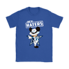 NFL - Dallas Cowboys Mickey Mouse Hey Haters Shirts-T-shirt-Gildan Womens T-Shirt-Royal Blue-S-Itees Global