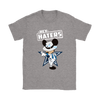 NFL - Dallas Cowboys Mickey Mouse Hey Haters Shirts-T-shirt-Gildan Womens T-Shirt-Sport Grey-S-Itees Global