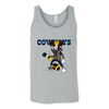 NFL - Dallas Cowboys Mickey Mouse Is Wearing A Peace Necklace Disney NFL Football Shirt-T-shirt-Canvas Unisex Tank-Athletic Grey-S-PopsSpot