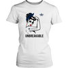 NFL - Dallas Cowboys Unbreakable American Football Shirts-T-shirt-District Womens Shirt-White-XS-Itees Global