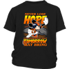 NFL – Denver Broncos Never Lose Hope x Mickey Mouse Shirts-T-shirt-District Youth Shirt-Black-XS-PopsSpot