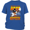 NFL – Denver Broncos Never Lose Hope x Mickey Mouse Shirts-T-shirt-District Youth Shirt-Royal Blue-XS-PopsSpot