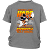 NFL – Denver Broncos Never Lose Hope x Mickey Mouse Shirts-T-shirt-District Youth Shirt-Sport Grey-XS-PopsSpot