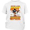 NFL – Denver Broncos Never Lose Hope x Mickey Mouse Shirts-T-shirt-District Youth Shirt-White-XS-PopsSpot