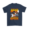 NFL – Denver Broncos Never Lose Hope x Mickey Mouse Shirts-T-shirt-Gildan Mens T-Shirt-Navy-S-PopsSpot