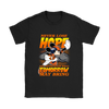NFL – Denver Broncos Never Lose Hope x Mickey Mouse Shirts-T-shirt-Gildan Womens T-Shirt-Black-S-PopsSpot