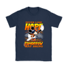 NFL – Denver Broncos Never Lose Hope x Mickey Mouse Shirts-T-shirt-Gildan Womens T-Shirt-Navy-S-PopsSpot