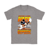NFL – Denver Broncos Never Lose Hope x Mickey Mouse Shirts-T-shirt-Gildan Womens T-Shirt-Sport Grey-S-PopsSpot