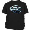 NFL - Dilly Dilly Carolina Panthers Football Shirts-T-shirt-District Youth Shirt-Black-XS-Itees Global