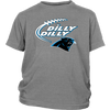 NFL - Dilly Dilly Carolina Panthers Football Shirts-T-shirt-District Youth Shirt-Sport Grey-XS-Itees Global