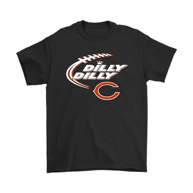 NFL – Dilly Dilly Chicago Bears Football Shirts-T-shirt-Gildan Mens T-Shirt-Black-S-Itees Global