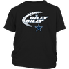 NFL – Dilly Dilly Funny Dallas Cowboys Football TShirts-T-shirt-District Youth Shirt-Black-XS-PopsSpot