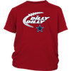 NFL – Dilly Dilly Funny Dallas Cowboys Football TShirts-T-shirt-District Youth Shirt-Red-XS-PopsSpot