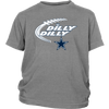 NFL – Dilly Dilly Funny Dallas Cowboys Football TShirts-T-shirt-District Youth Shirt-Sport Grey-XS-PopsSpot