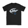 NFL – Dilly Dilly Funny Dallas Cowboys Football TShirts-T-shirt-Gildan Womens T-Shirt-Black-S-PopsSpot