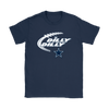 NFL – Dilly Dilly Funny Dallas Cowboys Football TShirts-T-shirt-Gildan Womens T-Shirt-Navy-S-PopsSpot