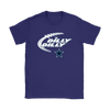 NFL – Dilly Dilly Funny Dallas Cowboys Football TShirts-T-shirt-Gildan Womens T-Shirt-Purple-S-PopsSpot