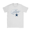 NFL – Dilly Dilly Funny Dallas Cowboys Football TShirts-T-shirt-Gildan Womens T-Shirt-White-S-PopsSpot