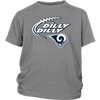 NFL – Dilly Dilly Los Angeles Rams Football Shirts-T-shirt-District Youth Shirt-Sport Grey-XS-PopsSpot