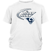 NFL – Dilly Dilly Los Angeles Rams Football Shirts-T-shirt-District Youth Shirt-White-XS-PopsSpot