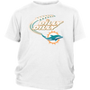 NFL – Dilly Dilly Miami Dolphins Football Shirts-T-shirt-District Youth Shirt-White-XS-PopsSpot