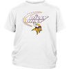 NFL – Dilly Dilly Minnesota Vikings Football Shirts-T-shirt-District Youth Shirt-White-XS-PopsSpot