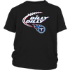 NFL – Dilly Dilly Tennessee Titans Football Shirts-T-shirt-District Youth Shirt-Black-XS-PopsSpot