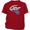 NFL – Dilly Dilly Tennessee Titans Football Shirts-T-shirt-District Youth Shirt-Red-XS-PopsSpot