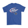 NFL – Dilly Dilly Tennessee Titans Football Shirts-T-shirt-Gildan Mens T-Shirt-Royal Blue-S-PopsSpot