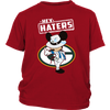 NFL - Green Bay Packers Mickey Mouse Hey Haters Shirts-T-shirt-District Youth Shirt-Red-XS-PopsSpot