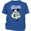 NFL - Green Bay Packers Mickey Mouse Hey Haters Shirts-T-shirt-District Youth Shirt-Royal Blue-XS-PopsSpot
