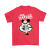 NFL - Green Bay Packers Mickey Mouse Hey Haters Shirts-T-shirt-Gildan Mens T-Shirt-Red-S-PopsSpot