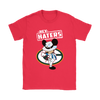 NFL - Green Bay Packers Mickey Mouse Hey Haters Shirts-T-shirt-Gildan Womens T-Shirt-Red-S-PopsSpot