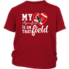 NFL - Houston Texans My Heart Is On That Field Shirts-T-shirt-District Youth Shirt-Red-XS-PopsSpot