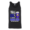 NFL - I Like To Party And By Party I Mean Drink Beer And Watch My Minnesota Vikings Beat Your Team's Ass International Beer Day NFL Football Shirt-T-shirt-Canvas Unisex Tank-Black-S-PopsSpot