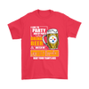 NFL – I Like To Party And By Party I Mean Drink Beer And Watch My Pittsburgh Steelers Beat Your Team's Ass International Beer Day NFL Football Shirt-T-shirt-Gildan Mens T-Shirt-Red-S-Itees Global