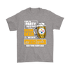 NFL – I Like To Party And By Party I Mean Drink Beer And Watch My Pittsburgh Steelers Beat Your Team's Ass International Beer Day NFL Football Shirt-T-shirt-Gildan Mens T-Shirt-Sport Grey-S-Itees Global